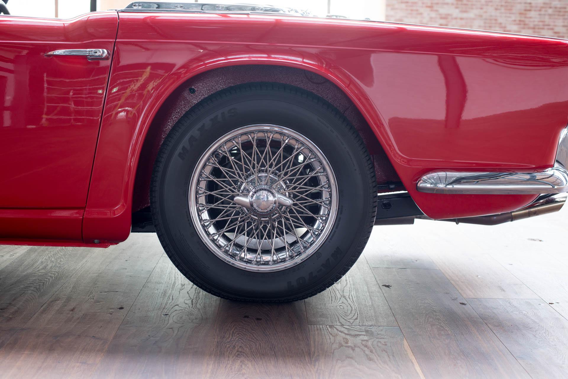 1962 Triumph TR4 - Richmonds - Classic and Prestige Cars - Storage ...