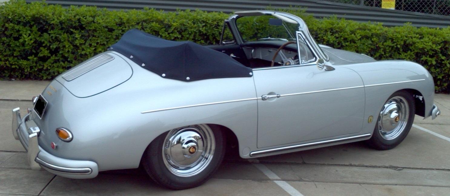 1958 Porsche 356a Cabriolet Richmonds Classic And Prestige Cars Storage And Sales