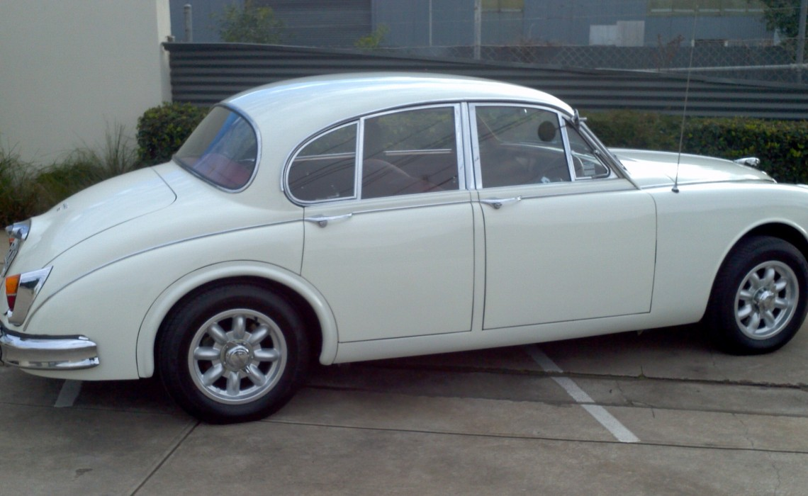1964 Jaguar  Mk 2  3.8