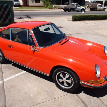 1970 Porsche 911E Coupe manual LHD