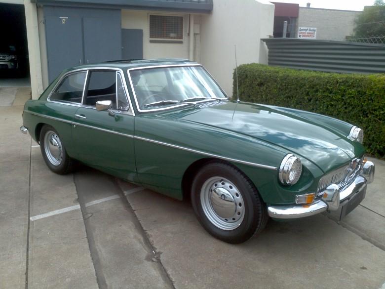 1969 Mgbgt Richmonds Classic And Prestige Cars