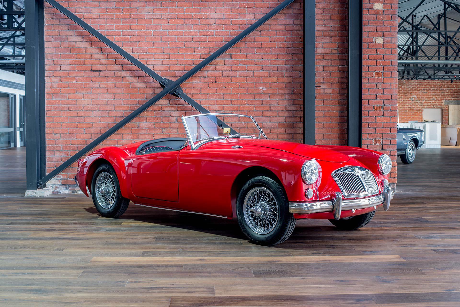 1956 MGA Roadster - Richmonds Prestige, Sports & Classic Cars ...
