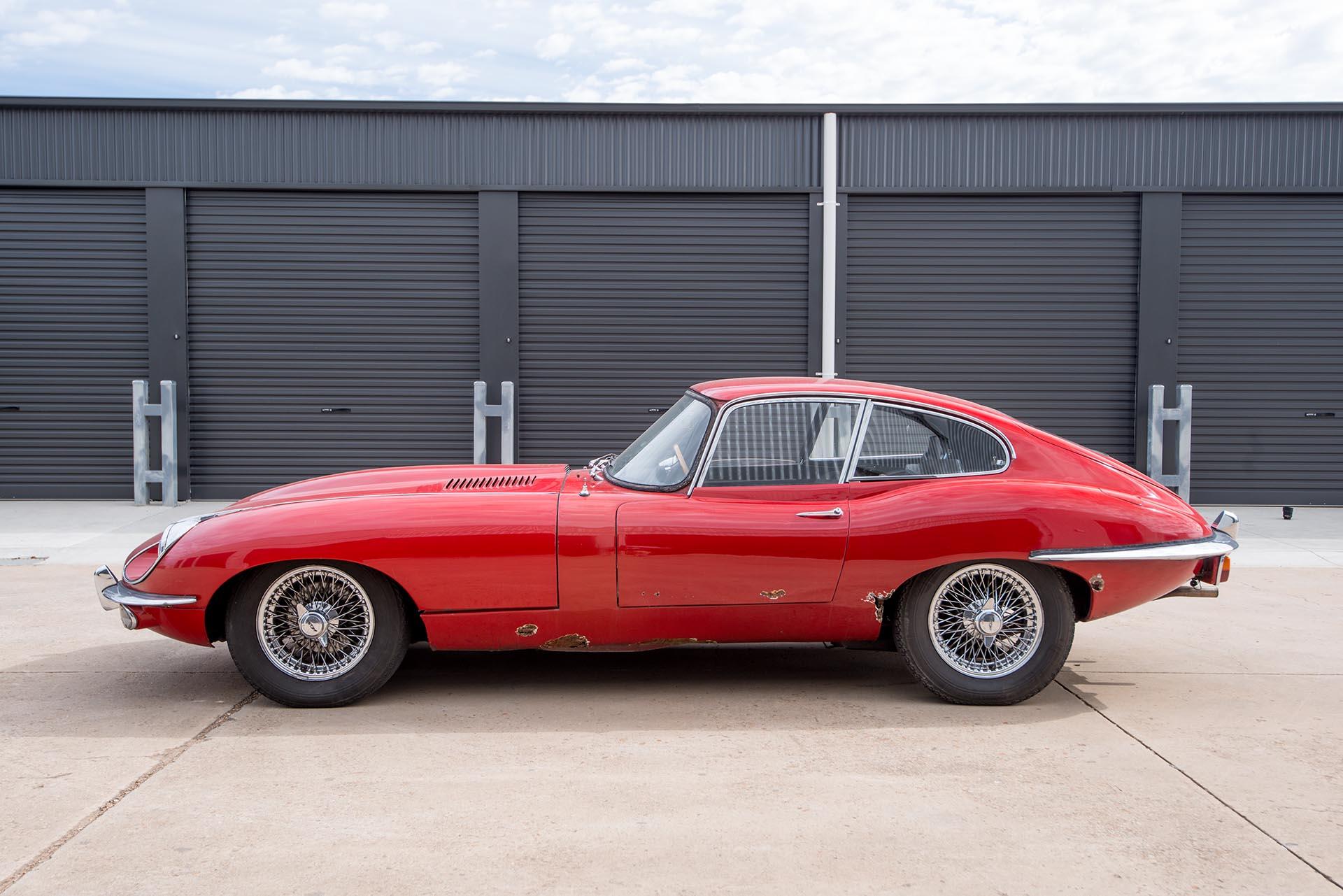 1969 Jaguar E-Type FHC - Richmonds - Classic and Prestige Cars - Storage and Sales - Adelaide ...