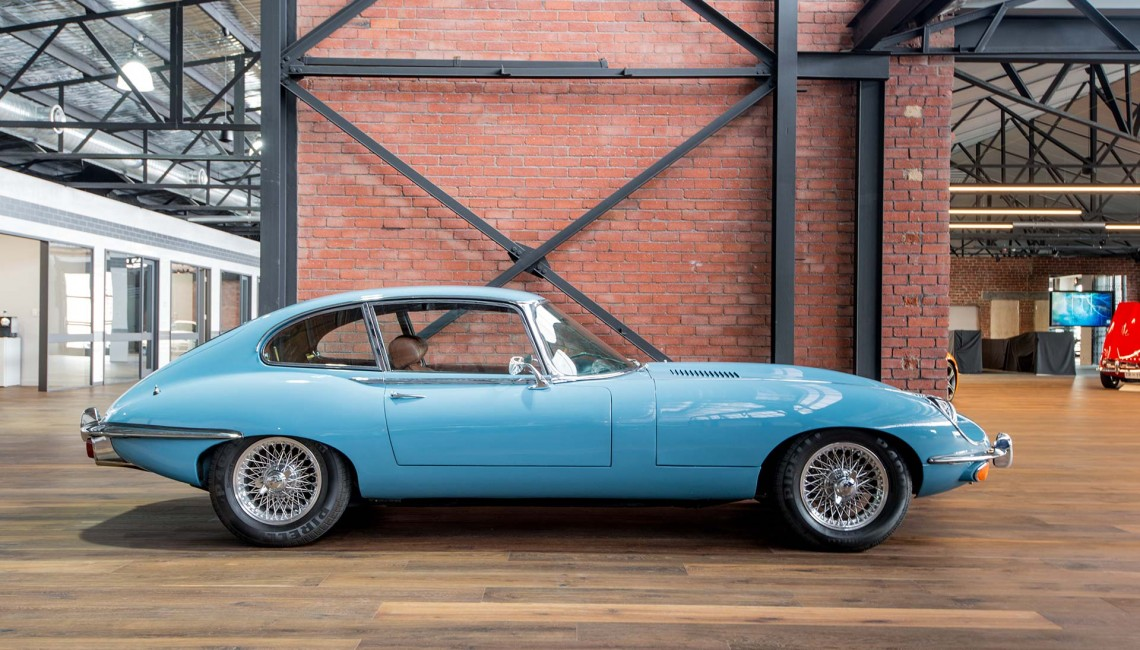 1969 Jaguar E-Type 2+2 LHD