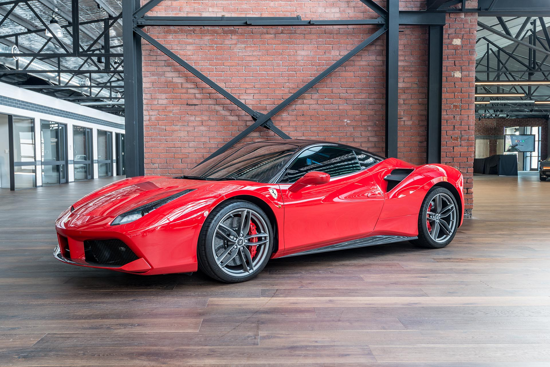 2016 ferrari 488 gtb for sale richmonds classic. Black Bedroom Furniture Sets. Home Design Ideas