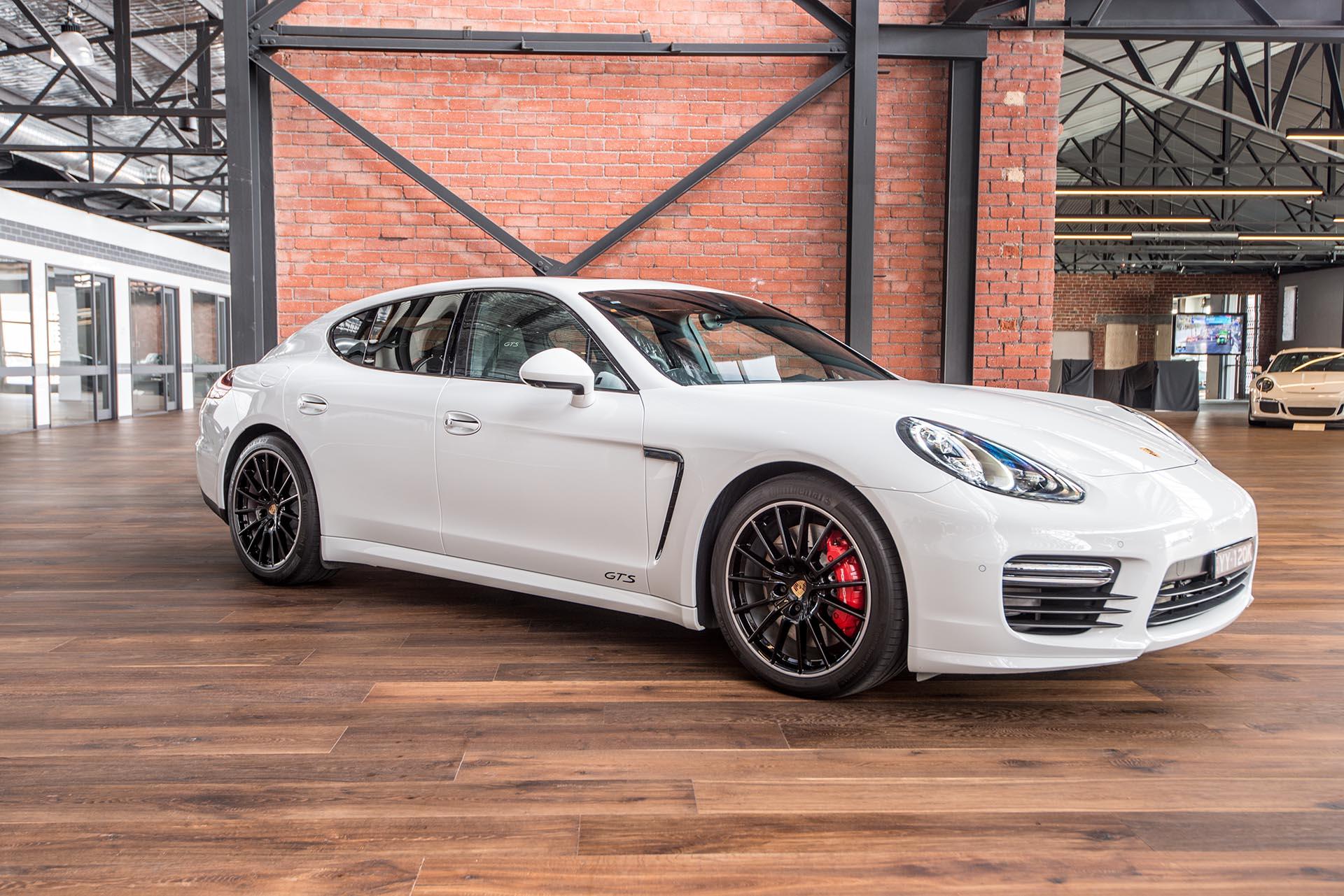 Porsche Panamera Gts White 13 Richmonds Classic And Prestige Cars Storage And Sales Adelaide Australia