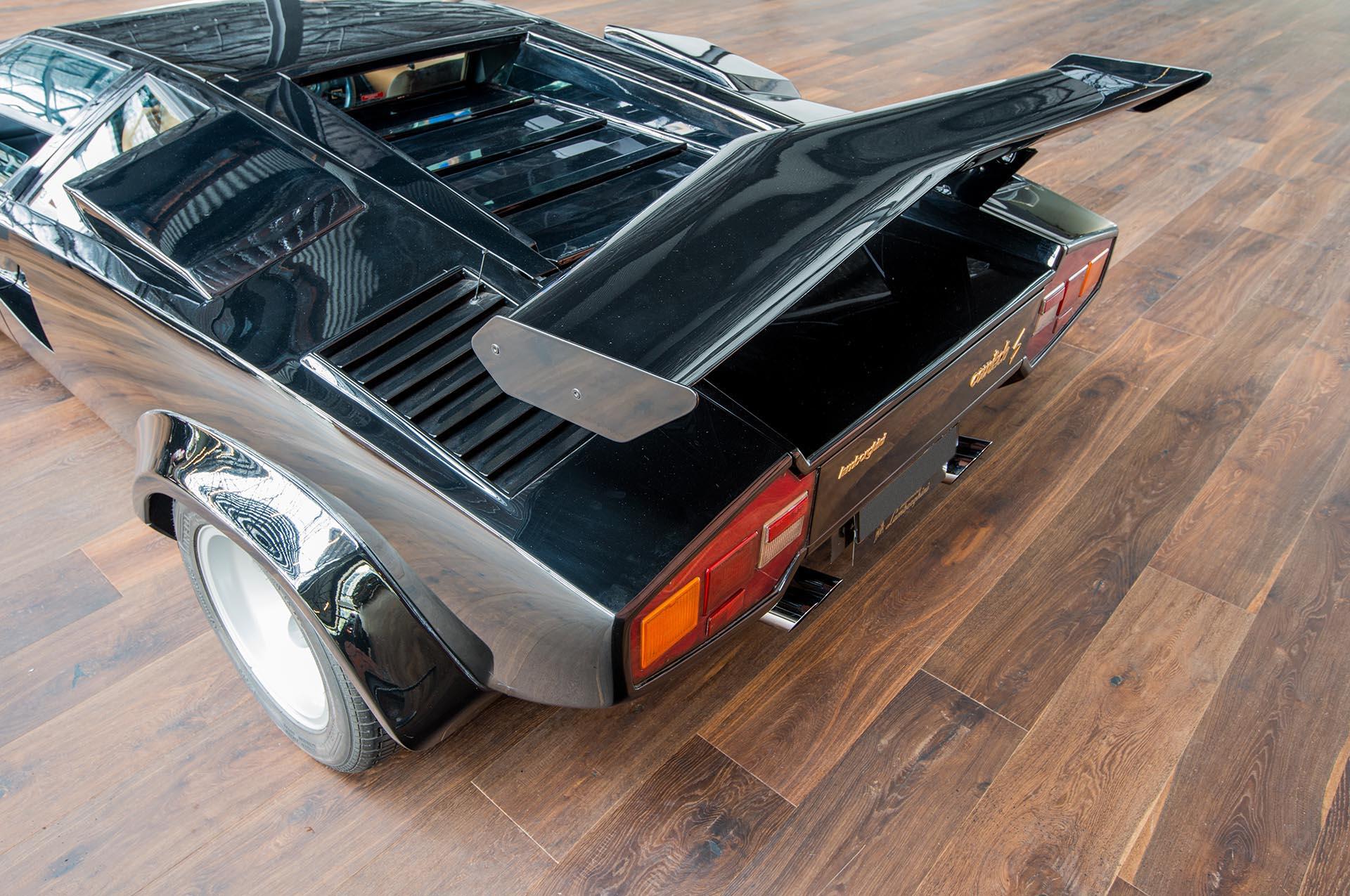 Lamborghini Countach Black Lp400s 26 Richmonds Classic And