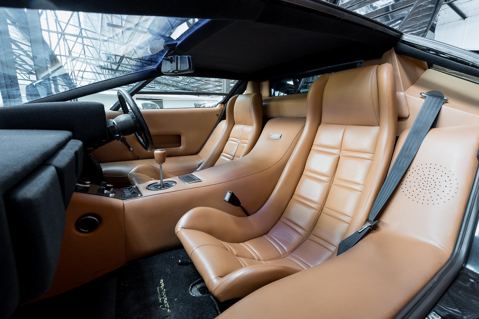 Lamborghini Countach Black Lp400s 5 Richmonds Classic And