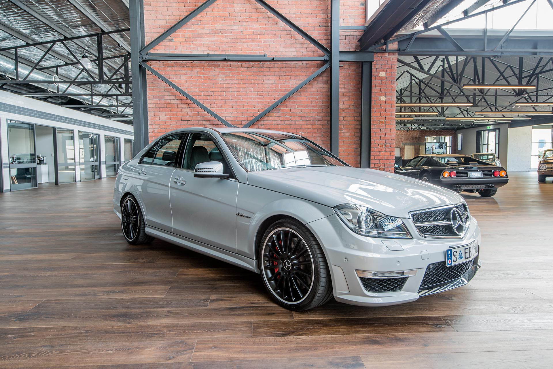 2012 mercedes c63 amg performance richmonds classic sports cars. Black Bedroom Furniture Sets. Home Design Ideas