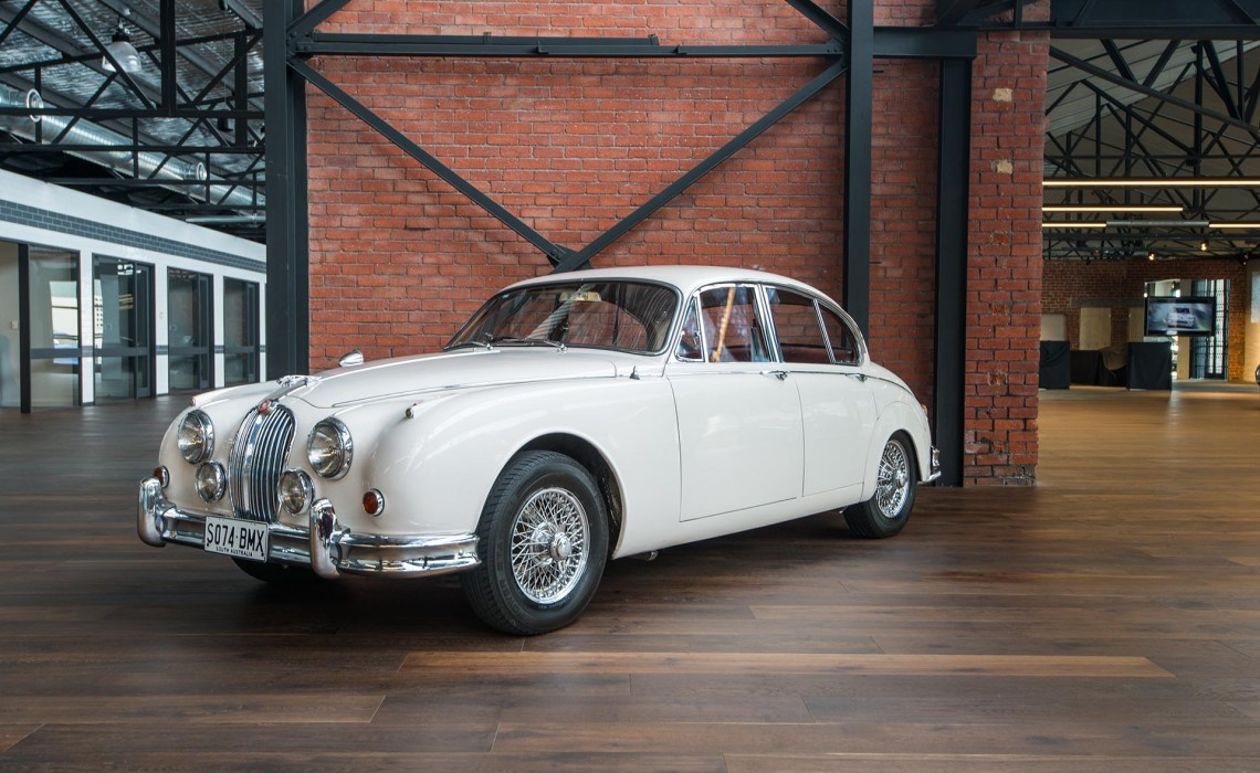 Make A Car >> 1962 Jaguar Mk2 3.4 Manual Sedan - Richmonds Classic ...