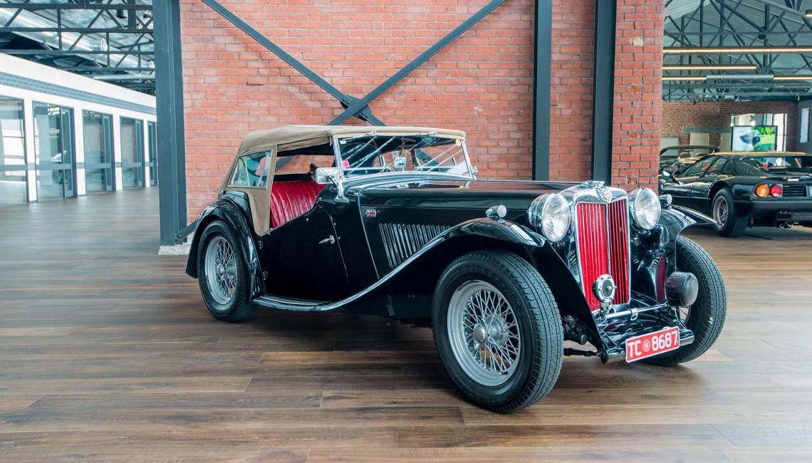1949 MGTC Convertible