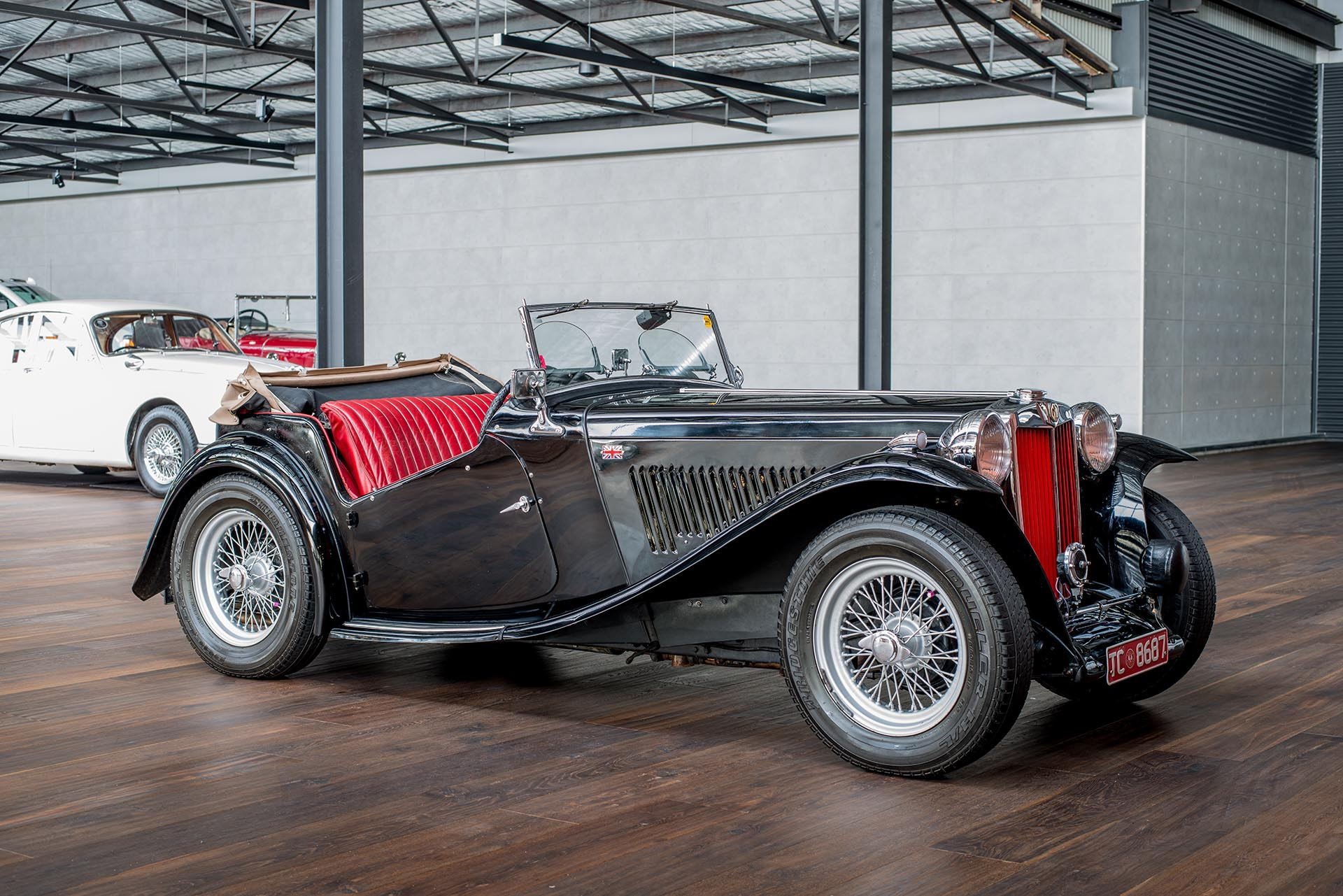 Sports Cars For Sale >> 1949 MG TC Convertible - Richmonds Prestige, Sports ...