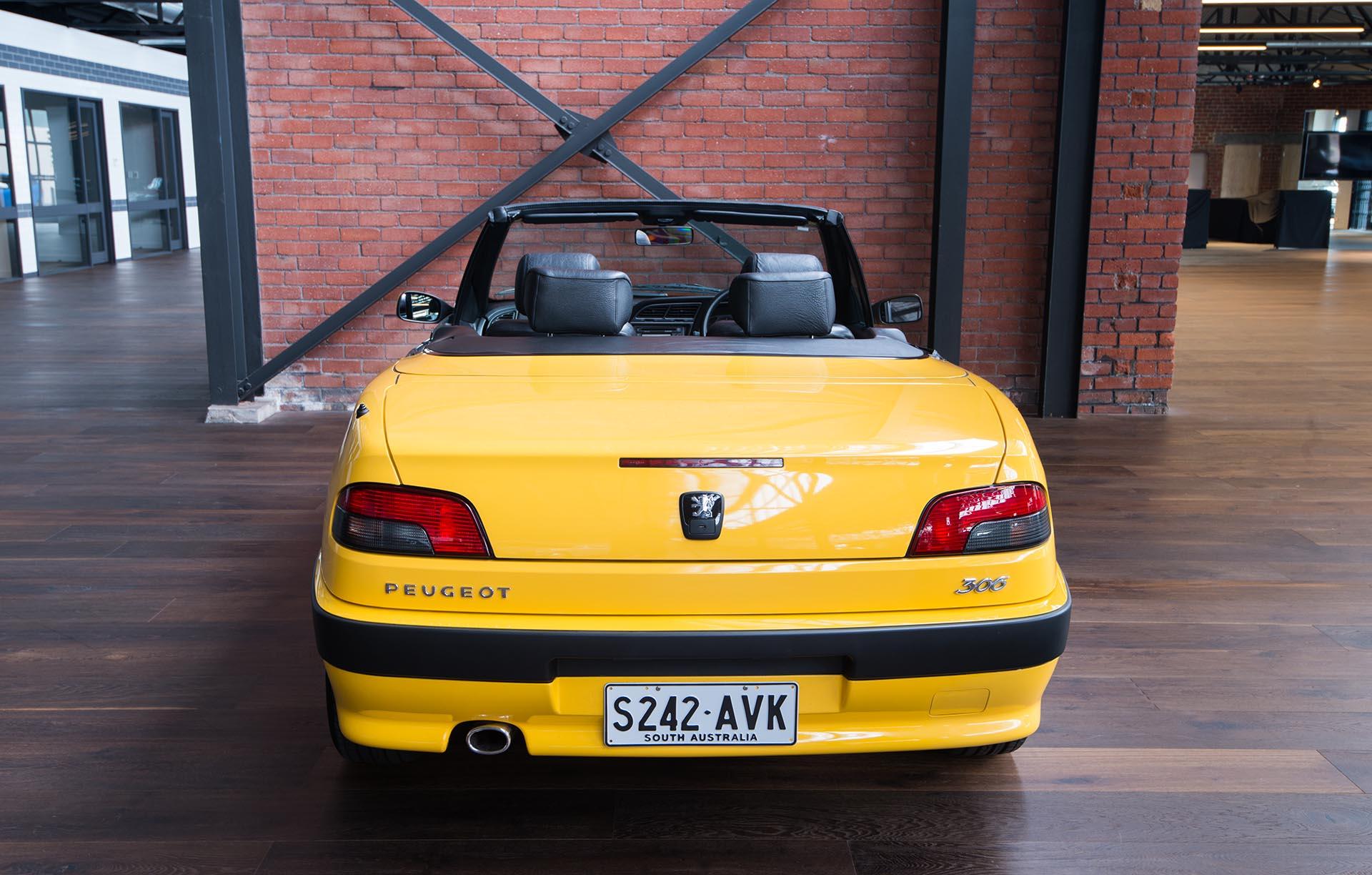 2001 peugeot 306 cabriolet for sale richmonds classic sports cars. Black Bedroom Furniture Sets. Home Design Ideas