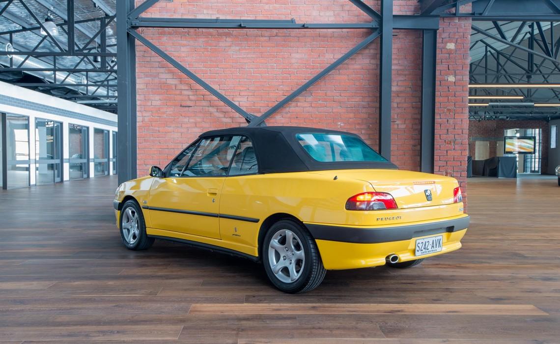 4 Door Convertible >> 2001 Peugeot 306 Cabriolet For Sale - Richmonds Classic & Sports Cars