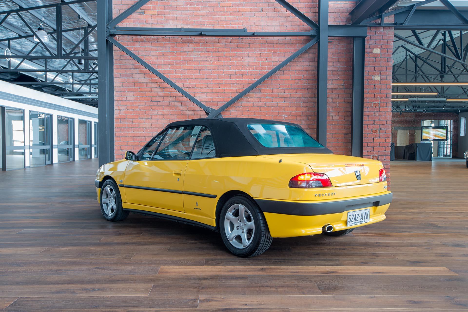 2001 peugeot 306 cabriolet for sale richmonds classic. Black Bedroom Furniture Sets. Home Design Ideas