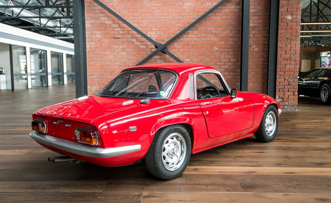 1968 Lotus Elan SE FHC - Richmonds Classic & Sports Cars ...