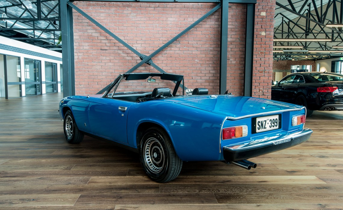 1975 jensen healey - richmonds - classic and prestige cars - storage and sales