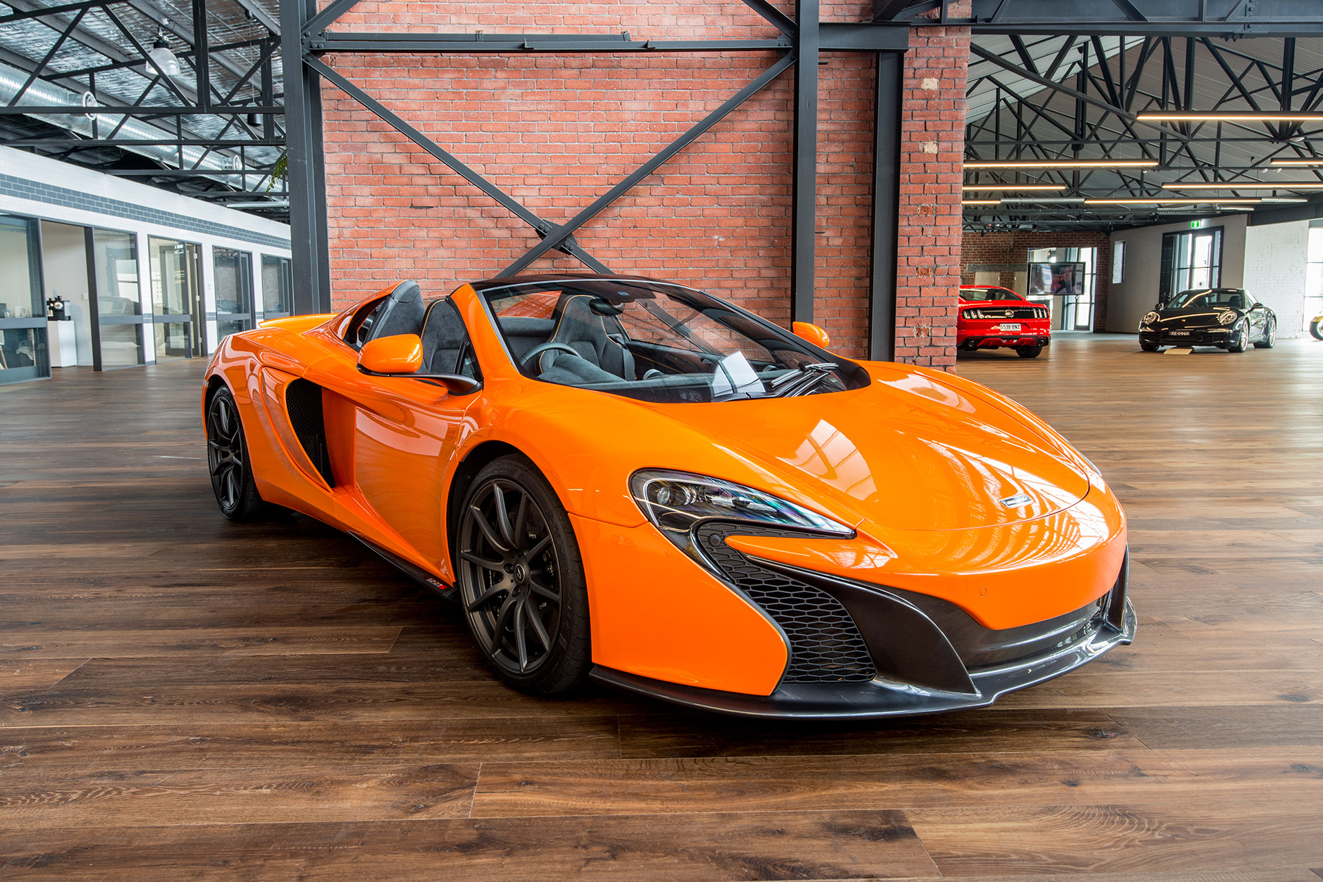 my15 mclaren 650s spider - richmonds - classic and prestige cars
