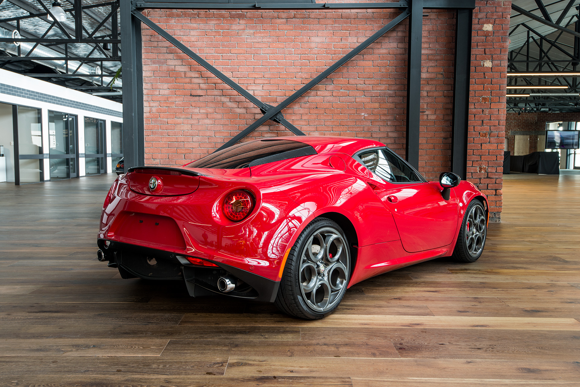 2014 alfa romeo 4c launch edition richmonds classic and prestige cars storage and sales. Black Bedroom Furniture Sets. Home Design Ideas