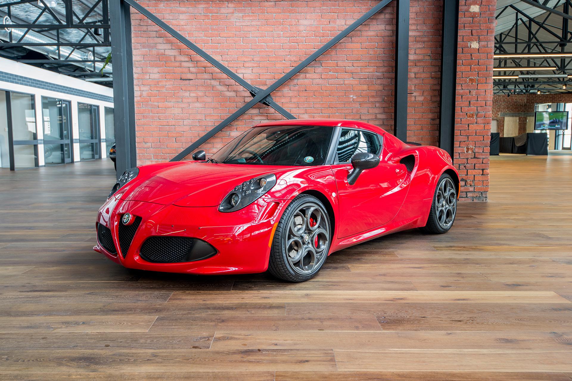 Alfa Romeo 4C >> 2014 Alfa Romeo 4C Launch Edition - Richmonds - Classic ...