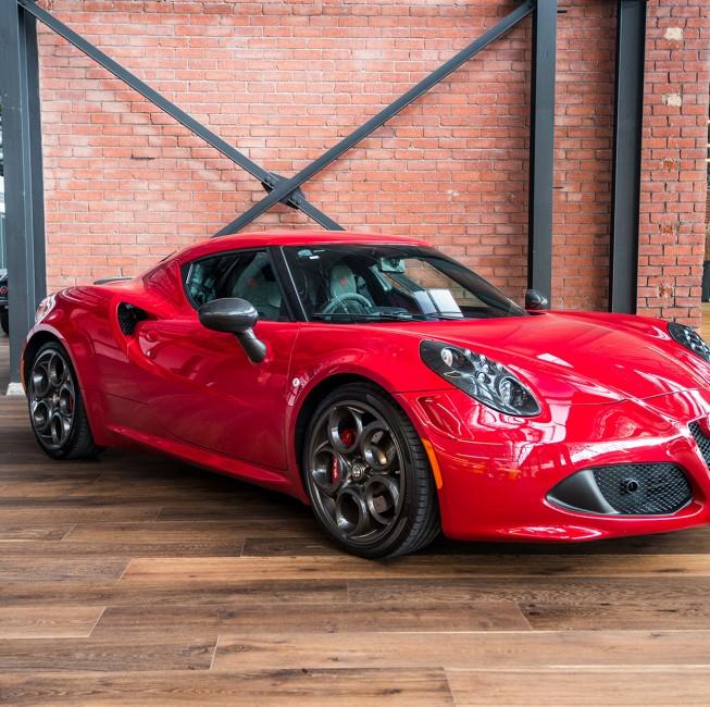 2014 Alfa 4C Launch Edition