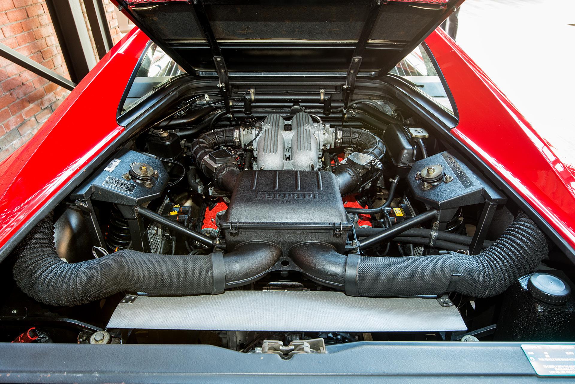 1990 Ferrari 348 Ts Manual Richmonds Classic And Prestige Cars Storage And Sales