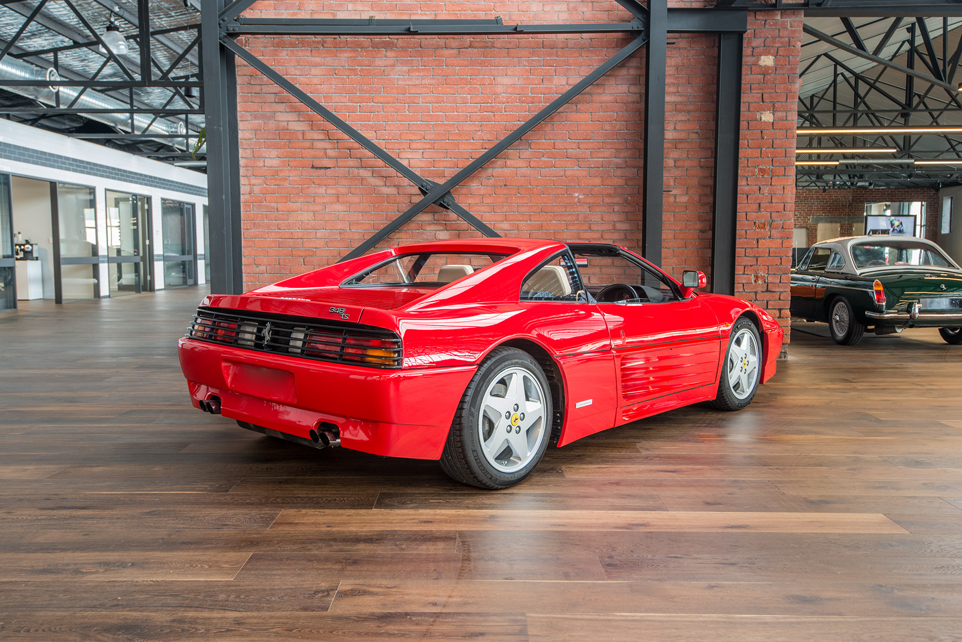 1990 ferrari 348 ts manual richmonds classic and prestige cars storage and sales. Black Bedroom Furniture Sets. Home Design Ideas