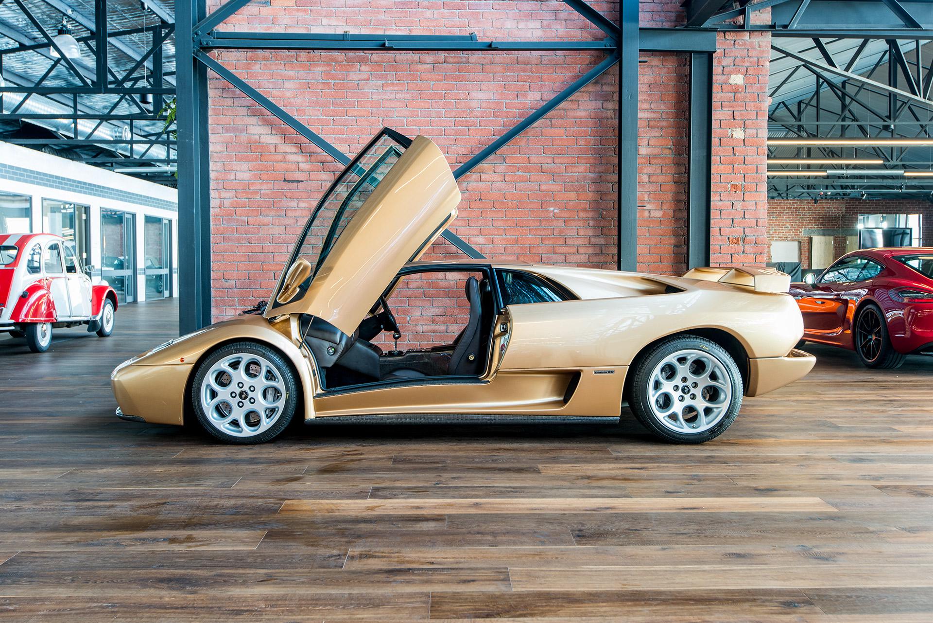 2001 lamborghini diablo vt 6 0 se richmonds classic and prestige cars storage and sales. Black Bedroom Furniture Sets. Home Design Ideas