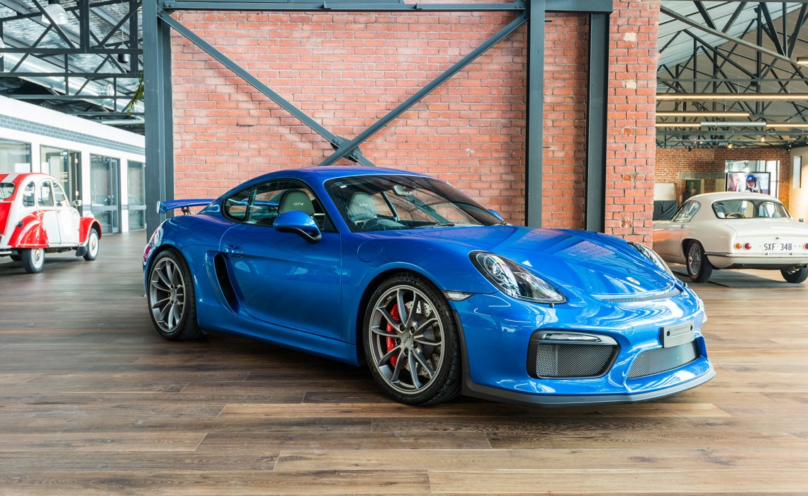 Porsche Driving Experience >> 2016 Porsche Cayman GT4 - Richmonds - Classic and Prestige ...