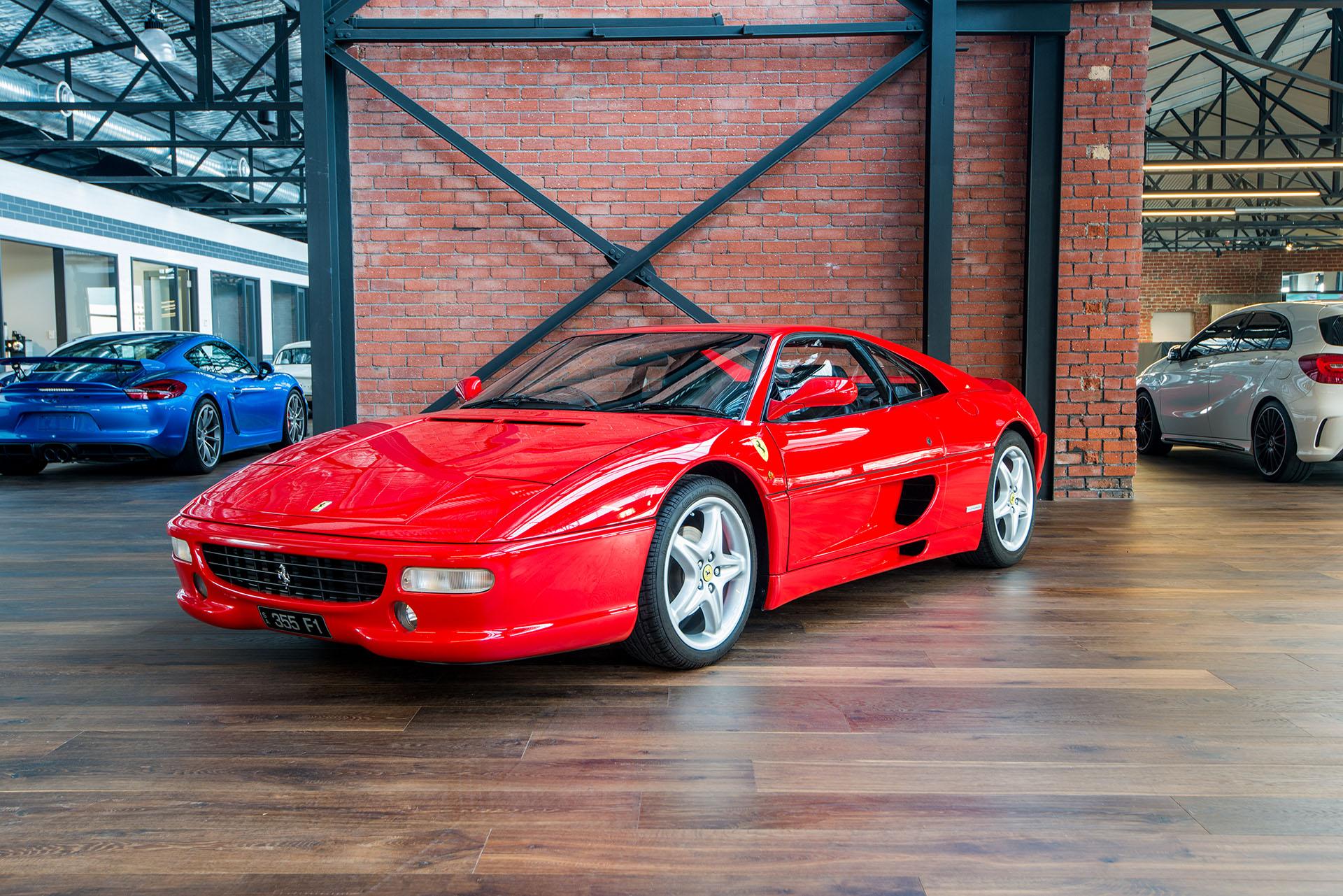 Floor Mats For Car >> 1998 Ferrari 355 Berlinetta F1 - Richmonds - Classic and ...