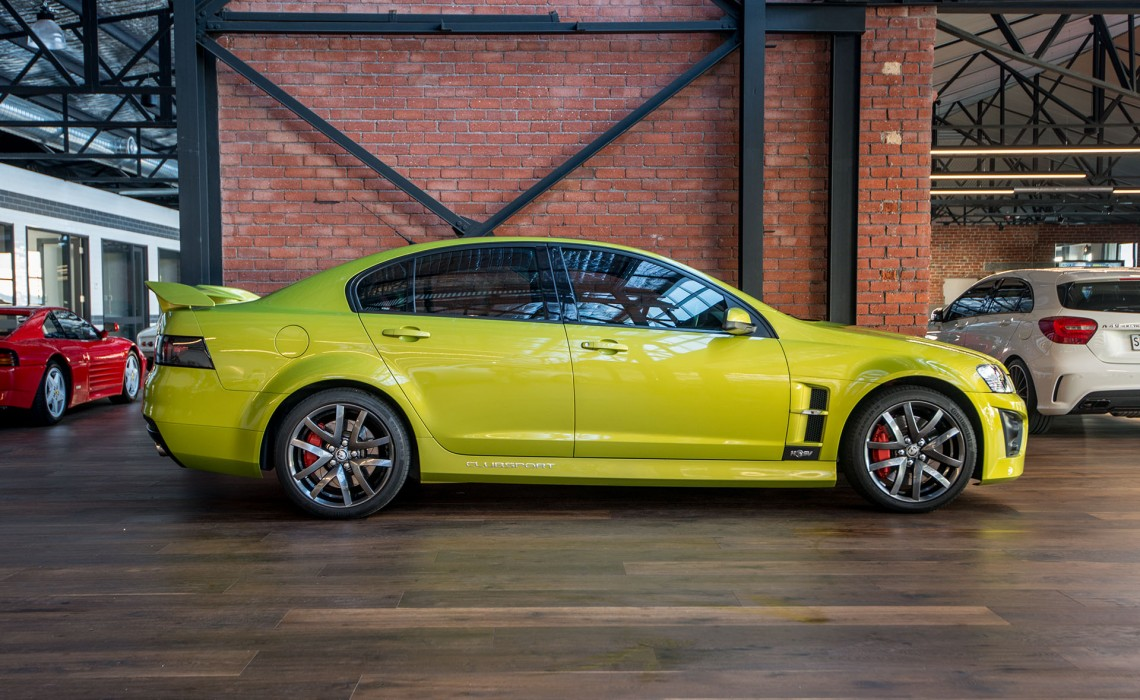 2008 Holden HSV R8 Clubsport