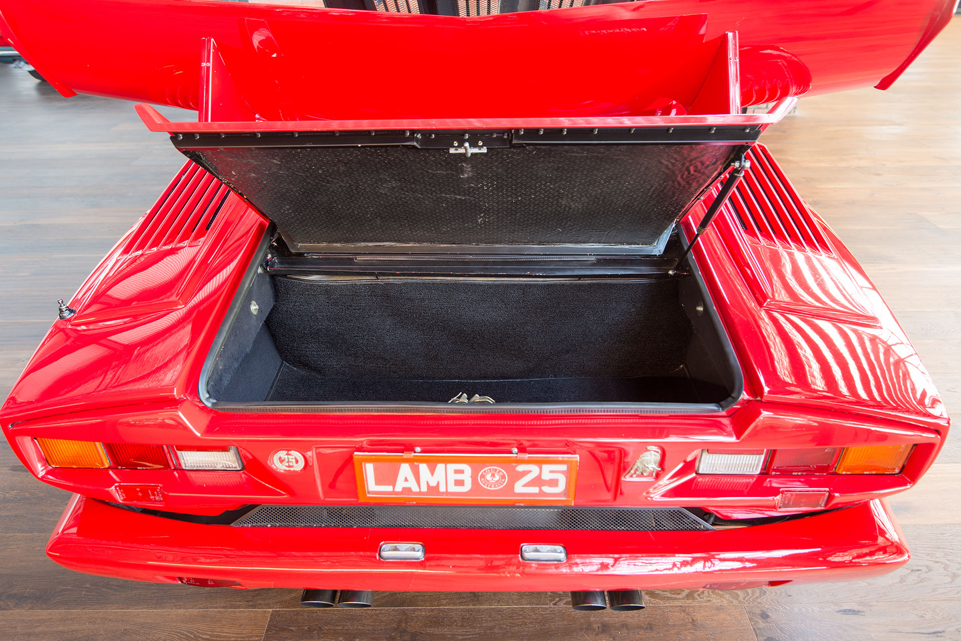 1990 Lamborghini Countach 25th Anniv Richmonds Classic And Prestige Cars Storage And