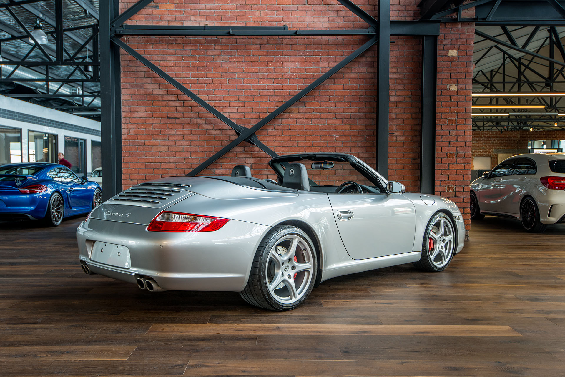 2005 porsche 911 carrera s cabriolet my06 richmonds. Black Bedroom Furniture Sets. Home Design Ideas