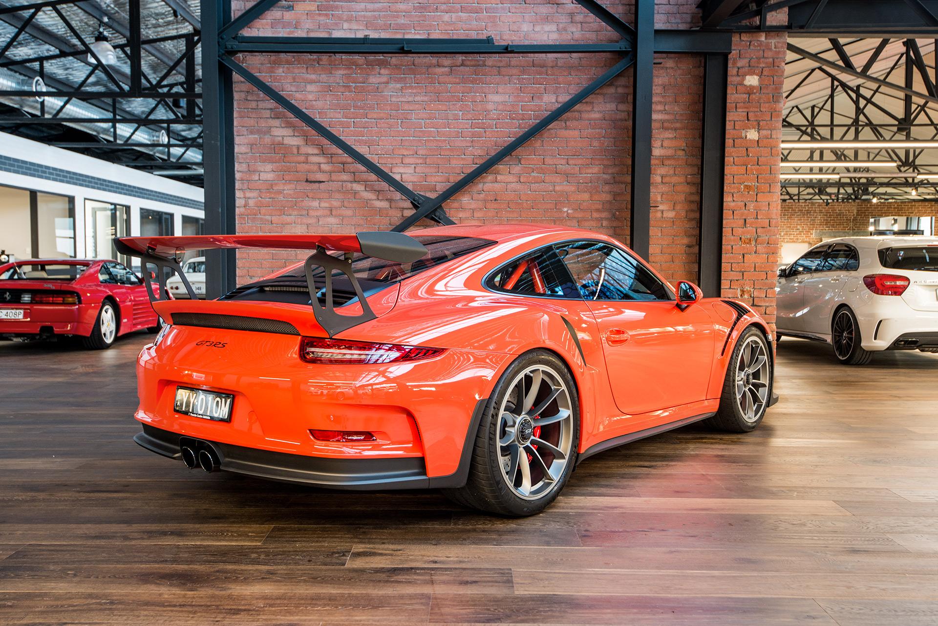 2016 porsche gt3 rs - richmonds - classic and prestige cars - storage and sales