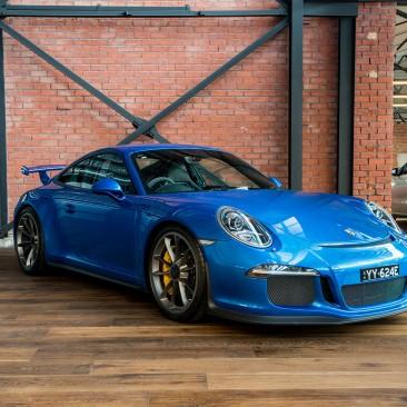 2013 Porsche GT3 Club Sport MY14