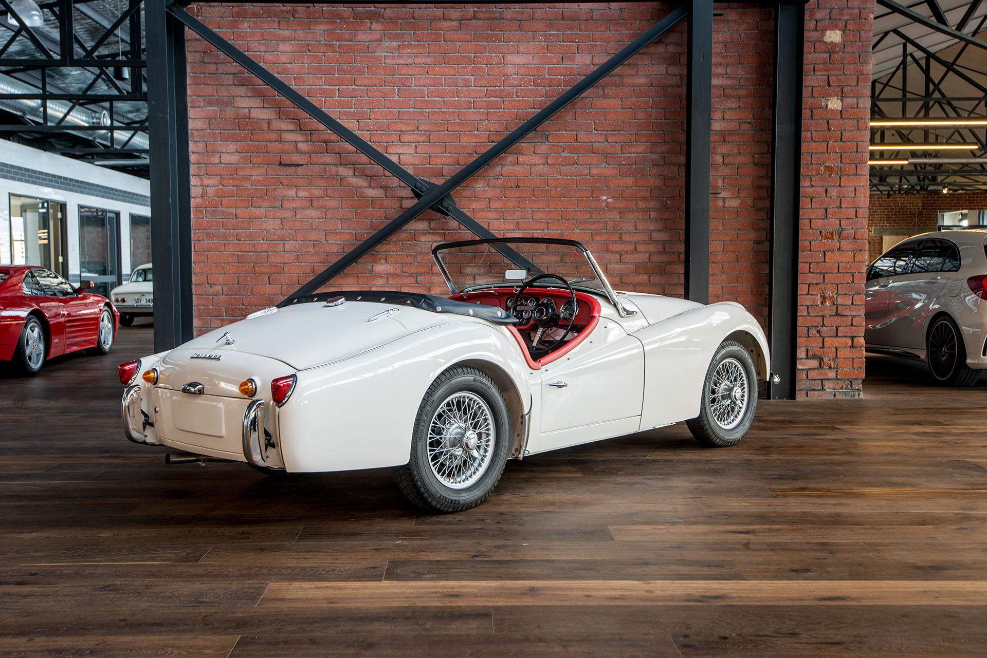 1960 Triumph Tr3a Richmonds Classic And Prestige Cars Storage