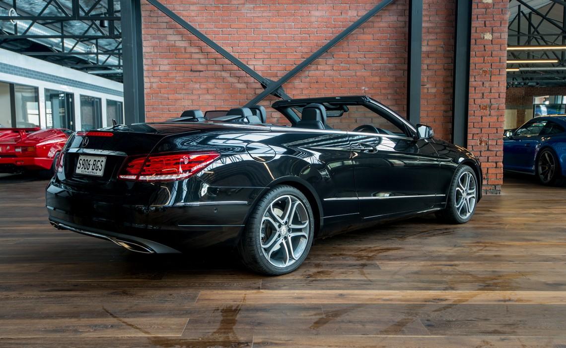2015 mercedes benz e 200 cabriolet richmonds classic and prestige cars storage and sales