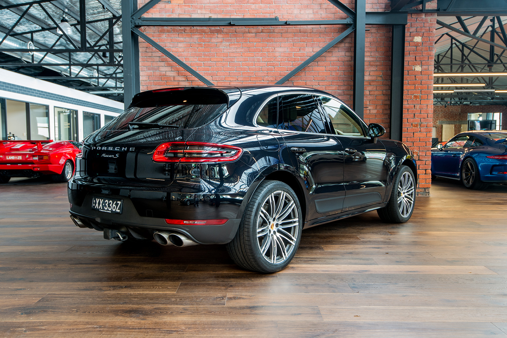 What Is Suspension In Car >> 2014 Porsche Macan S (MY15) - Richmonds - Classic and