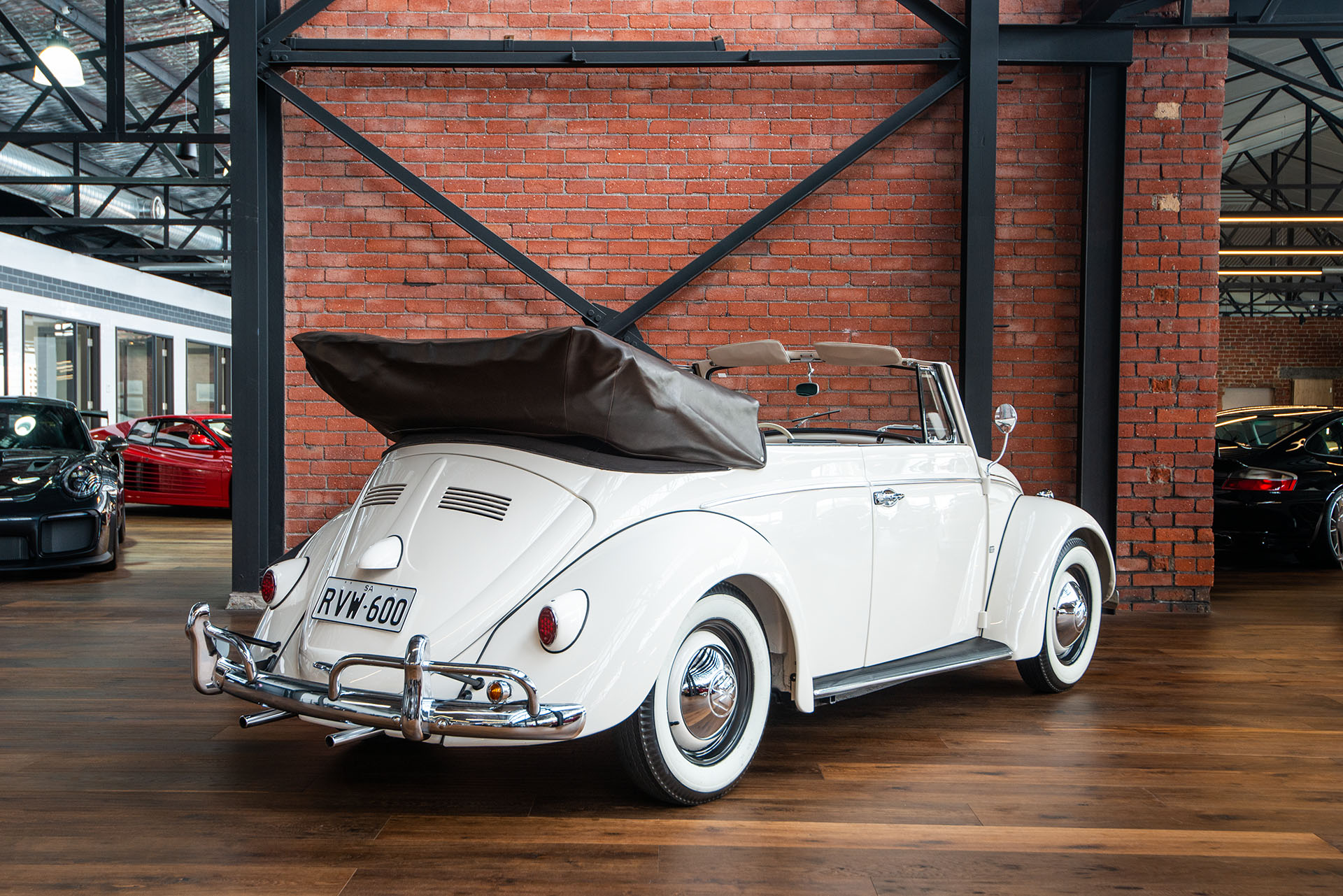 Volkswagen Beetle Convertible >> 1960 Volkswagen Cabriolet - Richmonds - Classic and Prestige Cars - Storage and Sales - Adelaide ...