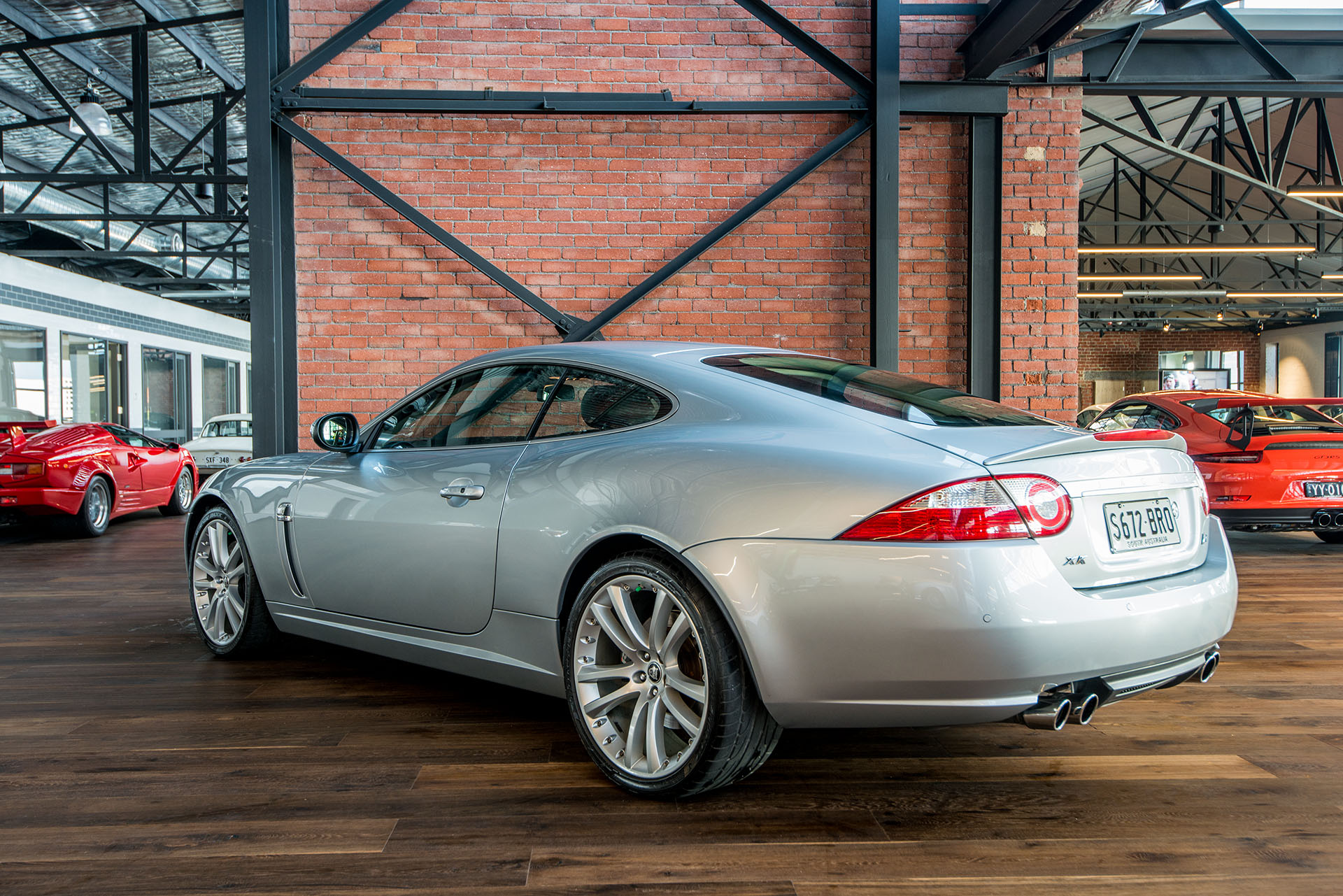 2007 Jaguar XKR Coupe - Richmonds - Classic and Prestige Cars - Storage and Sales - Adelaide ...