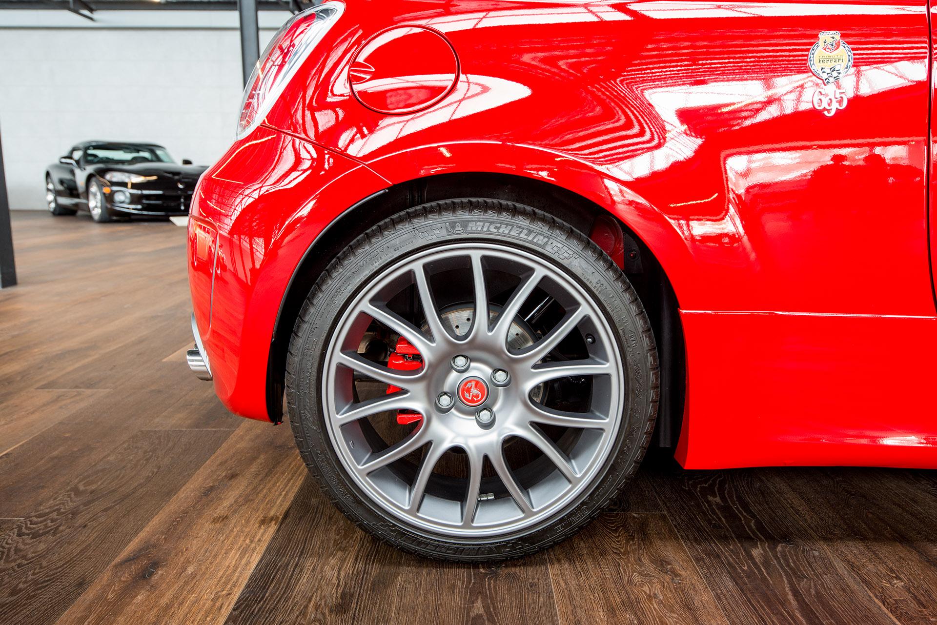 Fiat Abarth Red