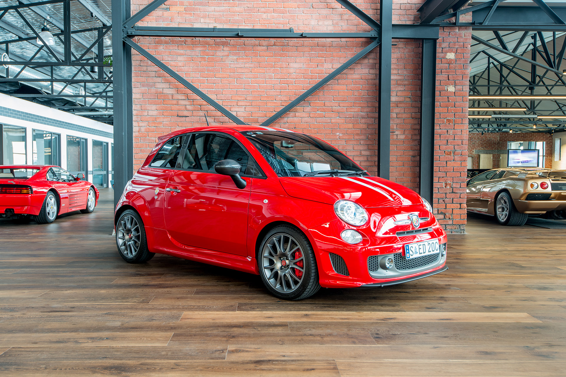 Fiat Abarth Red