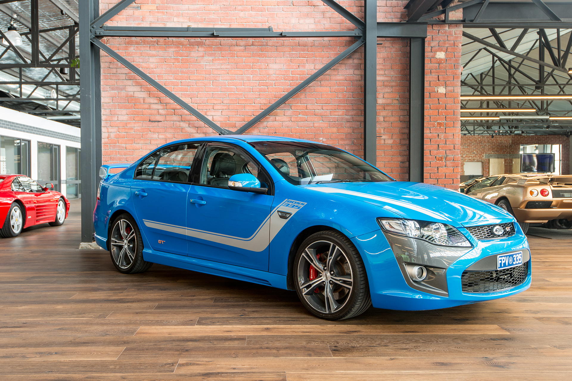 2010 fpv gt boss 335 richmonds classic and prestige cars storage and sales adelaide. Black Bedroom Furniture Sets. Home Design Ideas