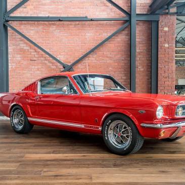 1965 Ford Mustang 2+2 Fastback 4sp Manual
