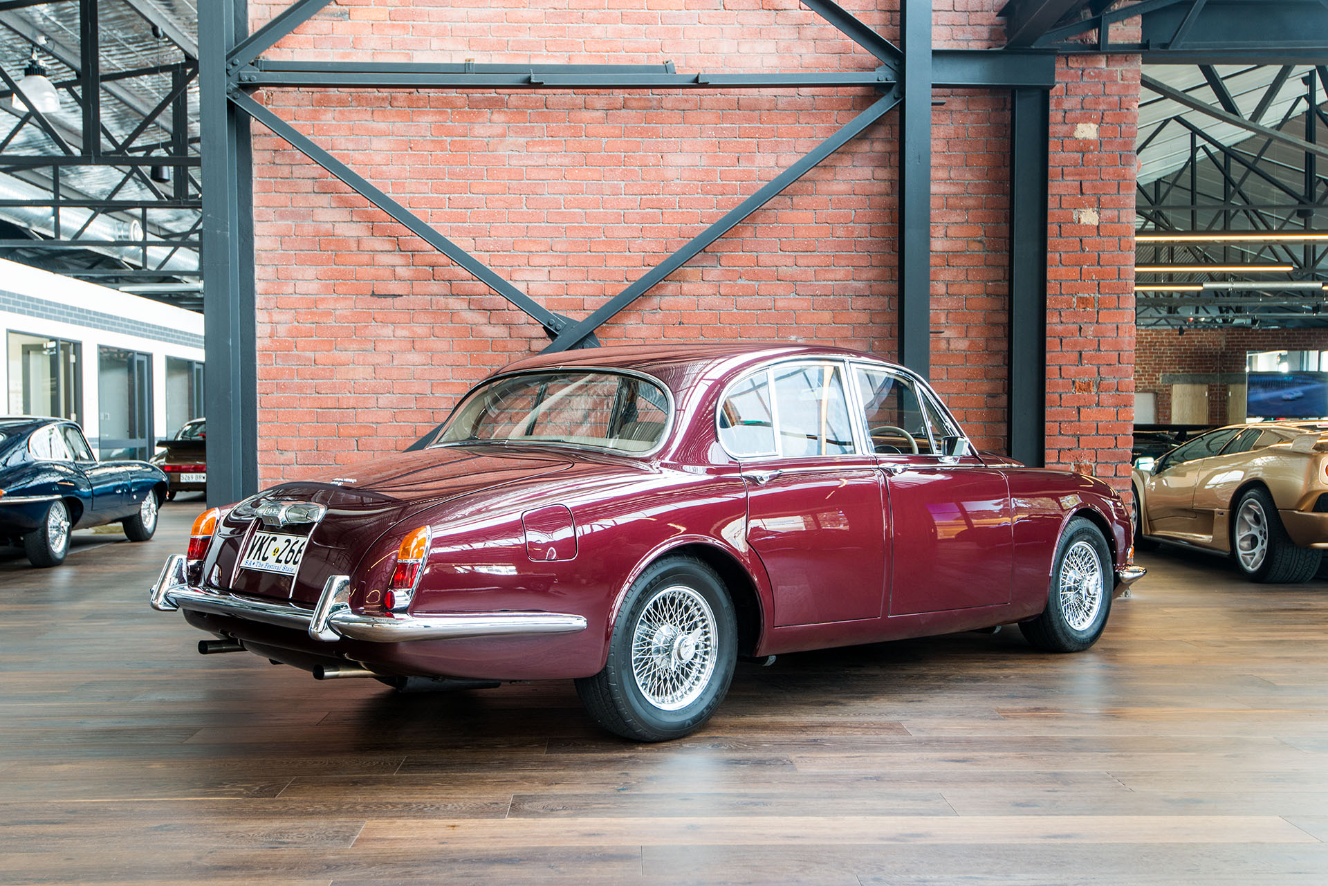 1966 Jaguar S Type Richmonds Classic And Prestige Cars Storage And Sales Adelaide Australia