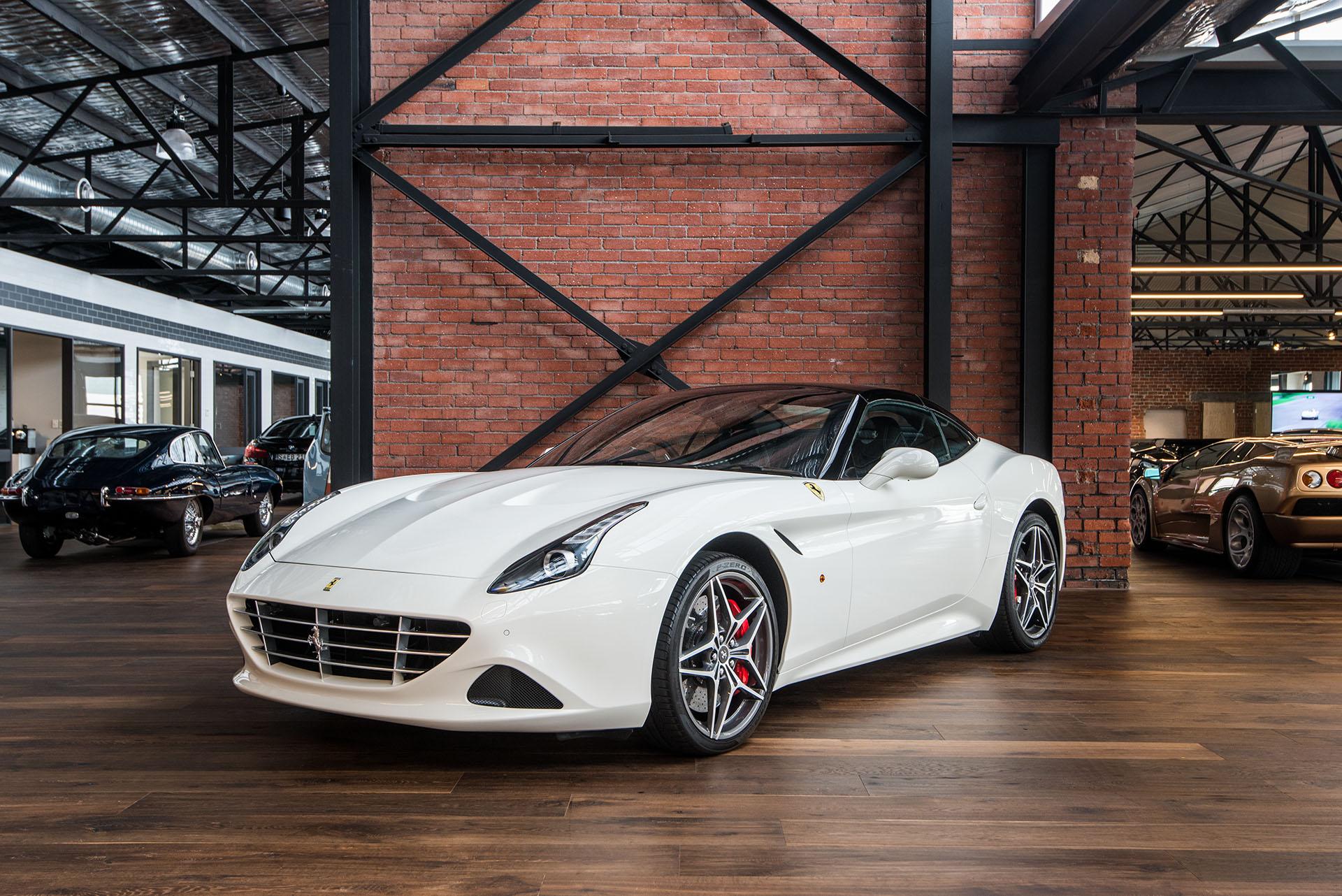 Ferrari California T white (33) , Richmonds , Classic and