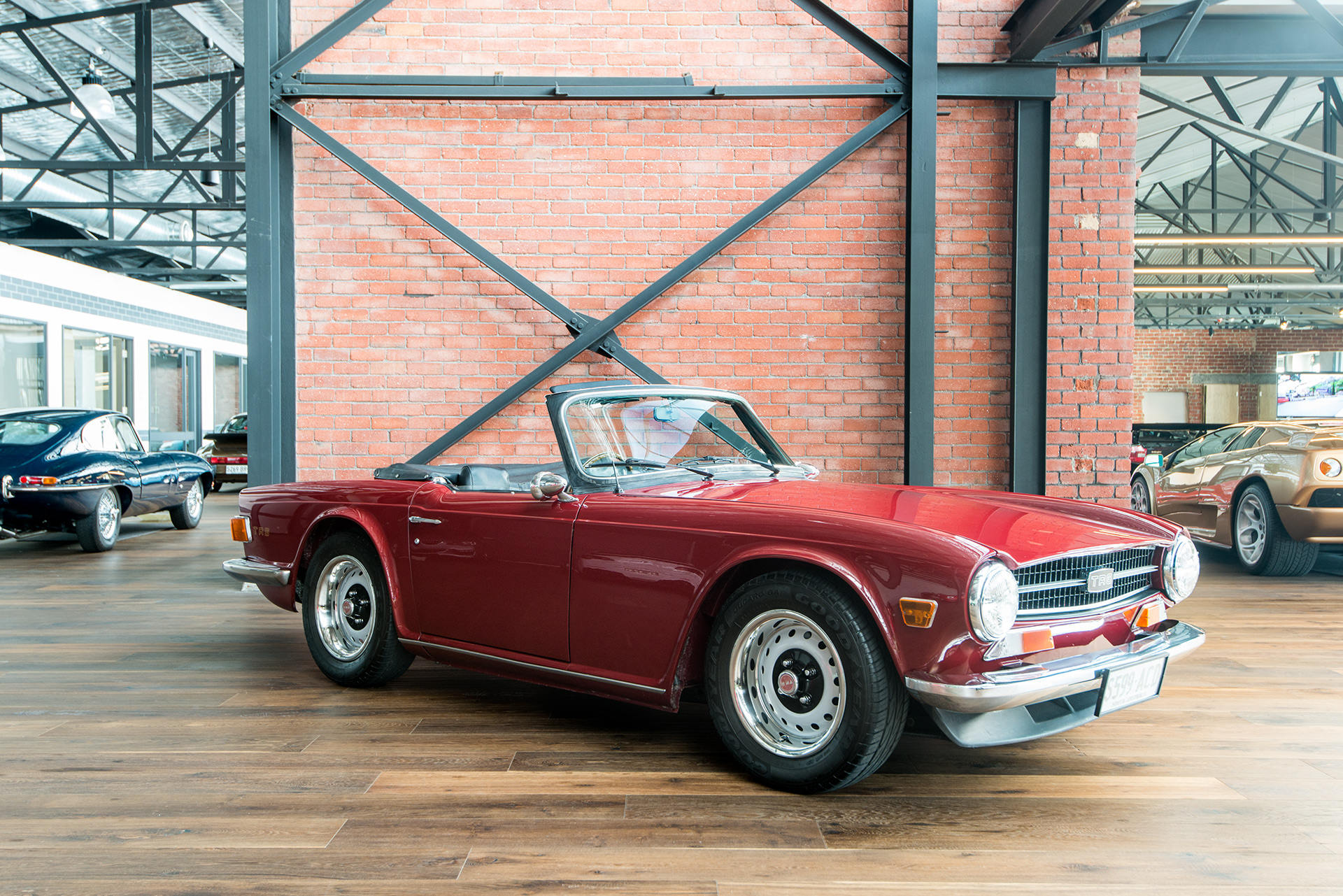1972 Triumph TR6 - Richmonds - Classic and Prestige Cars - Storage ...
