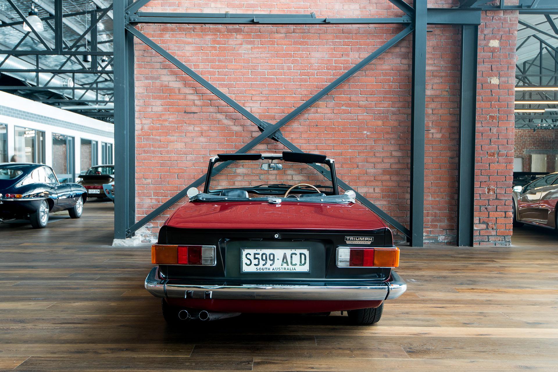 1972 Triumph TR6 - Richmonds - Classic and Prestige Cars - Storage ...