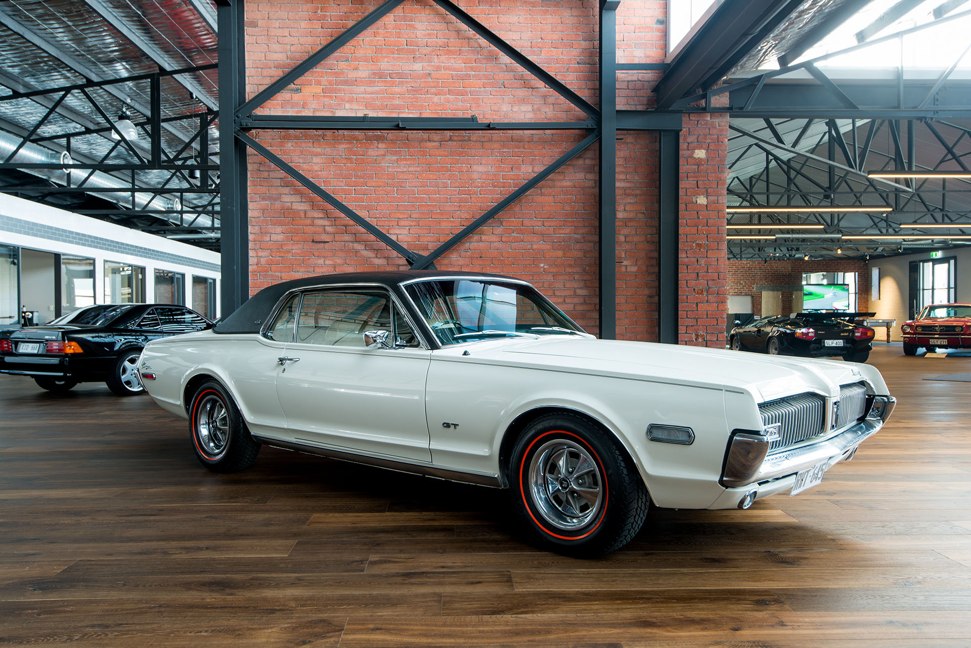 1968 mercury cougar coupe - richmonds - classic and prestige cars - storage and sales