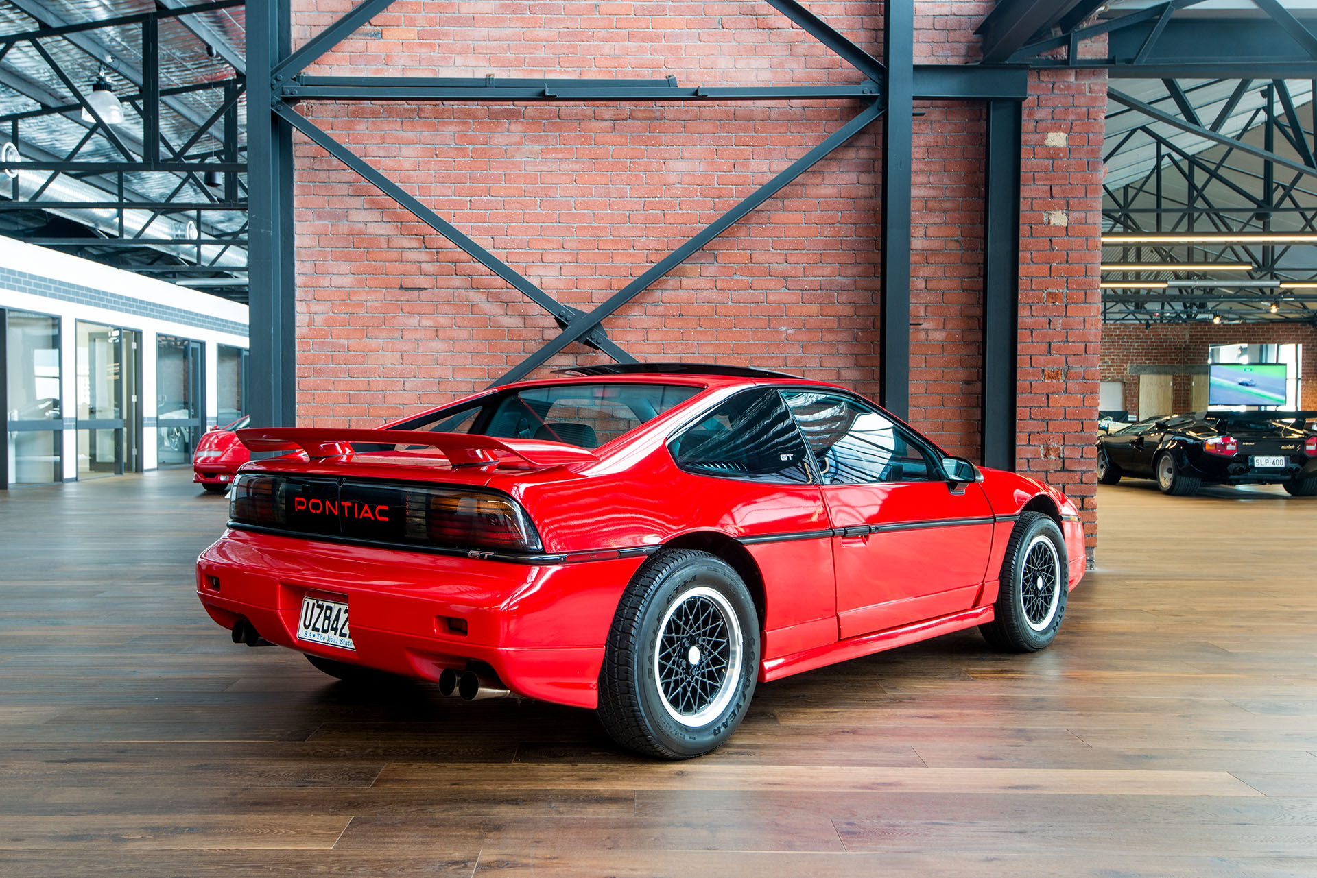 What Transmission Is In My Car >> 1988 Pontiac Fiero GT - Richmonds - Classic and Prestige Cars - Storage and Sales - Adelaide ...